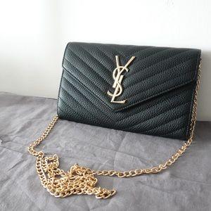 YSL wallet on chain black
